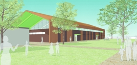 Parallax Designs New Gym for Sierra Canyon Lower School
